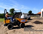 New roadway being laid at Bridge Farm