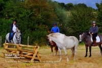Sam Riding Chelsea around Bridge Farms Cross Country Jumps